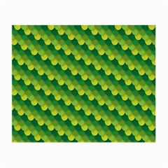 Dragon Scale Scales Pattern Small Glasses Cloth (2-Side)