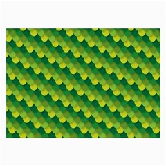 Dragon Scale Scales Pattern Large Glasses Cloth