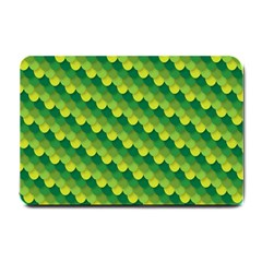 Dragon Scale Scales Pattern Small Doormat