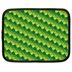 Dragon Scale Scales Pattern Netbook Case (Large)