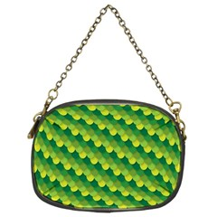 Dragon Scale Scales Pattern Chain Purses (Two Sides)