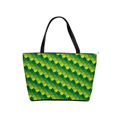 Dragon Scale Scales Pattern Shoulder Handbags