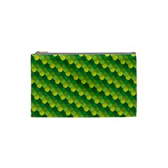 Dragon Scale Scales Pattern Cosmetic Bag (small)