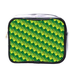 Dragon Scale Scales Pattern Mini Toiletries Bags