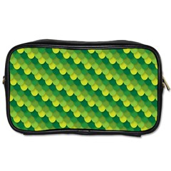 Dragon Scale Scales Pattern Toiletries Bags 2-Side