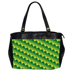 Dragon Scale Scales Pattern Office Handbags (2 Sides)