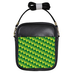 Dragon Scale Scales Pattern Girls Sling Bags