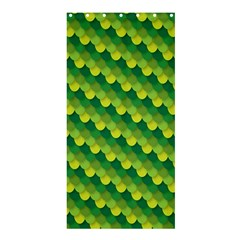 Dragon Scale Scales Pattern Shower Curtain 36  X 72  (stall)