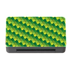 Dragon Scale Scales Pattern Memory Card Reader with CF