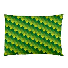 Dragon Scale Scales Pattern Pillow Case (Two Sides)