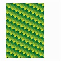 Dragon Scale Scales Pattern Small Garden Flag (two Sides)