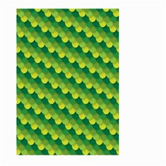 Dragon Scale Scales Pattern Large Garden Flag (Two Sides)