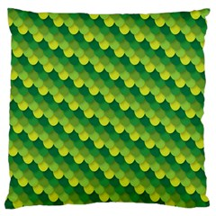 Dragon Scale Scales Pattern Large Cushion Case (Two Sides)