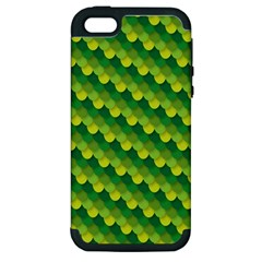 Dragon Scale Scales Pattern Apple iPhone 5 Hardshell Case (PC+Silicone)