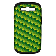 Dragon Scale Scales Pattern Samsung Galaxy S III Hardshell Case (PC+Silicone)