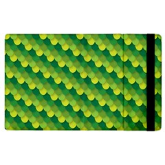 Dragon Scale Scales Pattern Apple Ipad 3/4 Flip Case