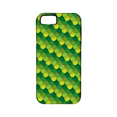 Dragon Scale Scales Pattern Apple Iphone 5 Classic Hardshell Case (pc+silicone)