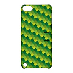 Dragon Scale Scales Pattern Apple Ipod Touch 5 Hardshell Case With Stand