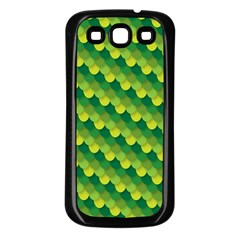 Dragon Scale Scales Pattern Samsung Galaxy S3 Back Case (black)