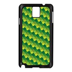 Dragon Scale Scales Pattern Samsung Galaxy Note 3 N9005 Case (Black)