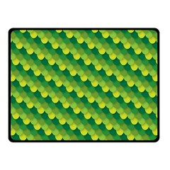 Dragon Scale Scales Pattern Double Sided Fleece Blanket (small)