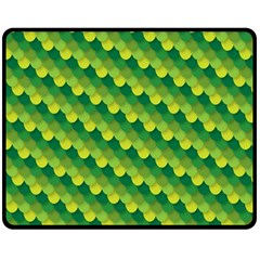 Dragon Scale Scales Pattern Double Sided Fleece Blanket (medium)