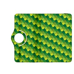 Dragon Scale Scales Pattern Kindle Fire HDX 8.9  Flip 360 Case