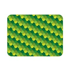 Dragon Scale Scales Pattern Double Sided Flano Blanket (mini)