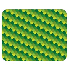 Dragon Scale Scales Pattern Double Sided Flano Blanket (medium)
