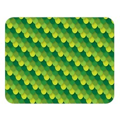 Dragon Scale Scales Pattern Double Sided Flano Blanket (Large)
