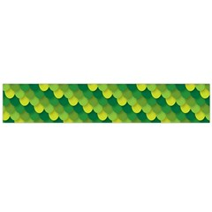 Dragon Scale Scales Pattern Flano Scarf (Large)