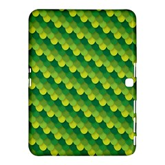 Dragon Scale Scales Pattern Samsung Galaxy Tab 4 (10 1 ) Hardshell Case