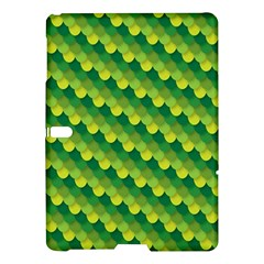 Dragon Scale Scales Pattern Samsung Galaxy Tab S (10.5 ) Hardshell Case