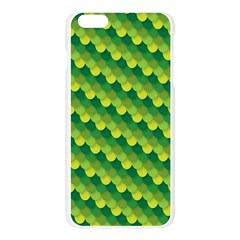 Dragon Scale Scales Pattern Apple Seamless iPhone 6 Plus/6S Plus Case (Transparent)