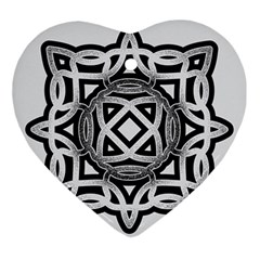Celtic Draw Drawing Hand Draw Ornament (heart)