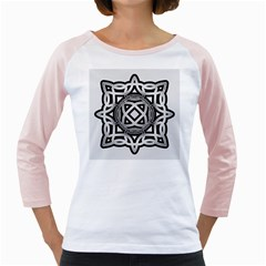 Celtic Draw Drawing Hand Draw Girly Raglans