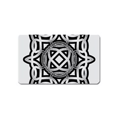 Celtic Draw Drawing Hand Draw Magnet (name Card)