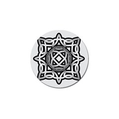 Celtic Draw Drawing Hand Draw Golf Ball Marker (10 pack)