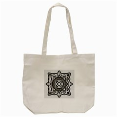 Celtic Draw Drawing Hand Draw Tote Bag (cream)