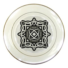 Celtic Draw Drawing Hand Draw Porcelain Plates