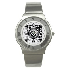 Celtic Draw Drawing Hand Draw Stainless Steel Watch