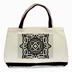 Celtic Draw Drawing Hand Draw Basic Tote Bag