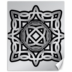 Celtic Draw Drawing Hand Draw Canvas 16  x 20