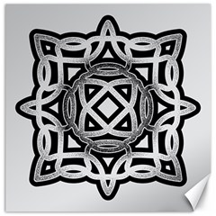 Celtic Draw Drawing Hand Draw Canvas 20  x 20