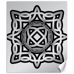 Celtic Draw Drawing Hand Draw Canvas 20  X 24