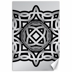 Celtic Draw Drawing Hand Draw Canvas 20  X 30