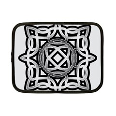 Celtic Draw Drawing Hand Draw Netbook Case (Small)