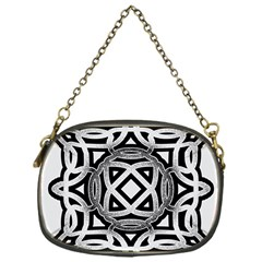 Celtic Draw Drawing Hand Draw Chain Purses (one Side)