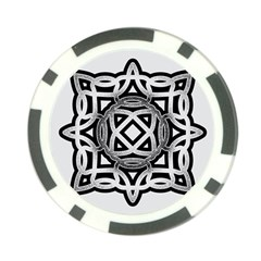 Celtic Draw Drawing Hand Draw Poker Chip Card Guard (10 Pack)