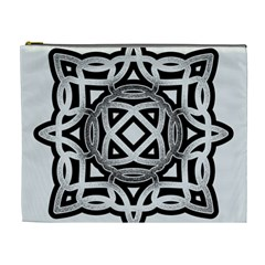 Celtic Draw Drawing Hand Draw Cosmetic Bag (XL)